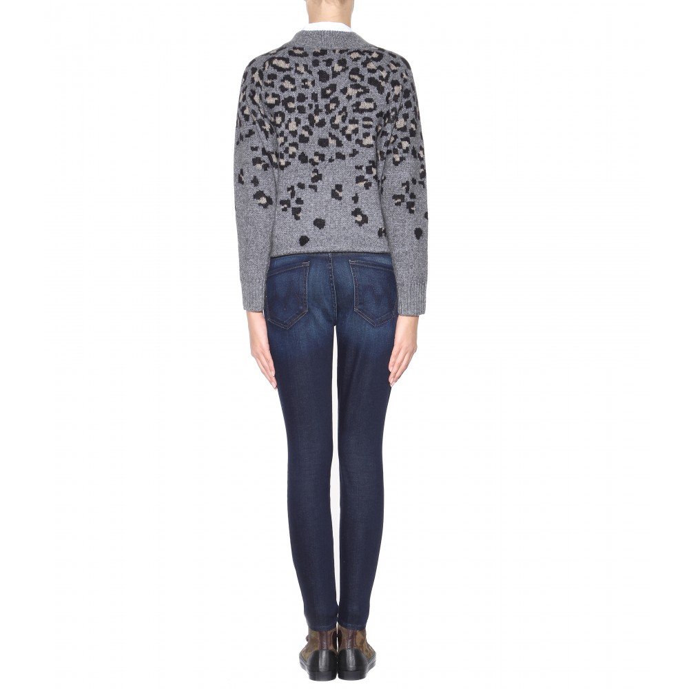 Mother The Pixie Skinny Jeans in Blue