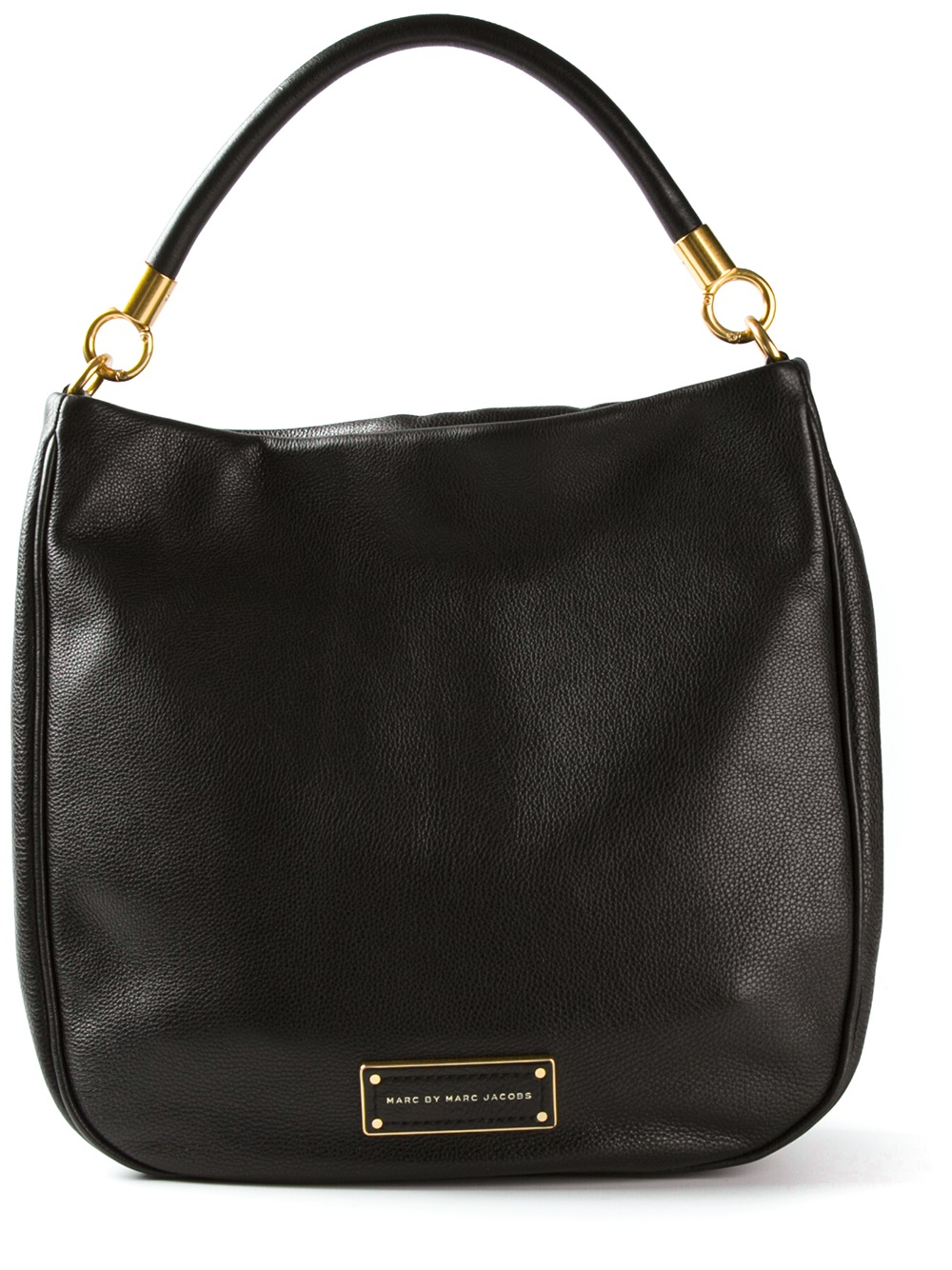 lyst marc by marc jacobs 39 too hot to handle 39 hobo bag in black. Black Bedroom Furniture Sets. Home Design Ideas