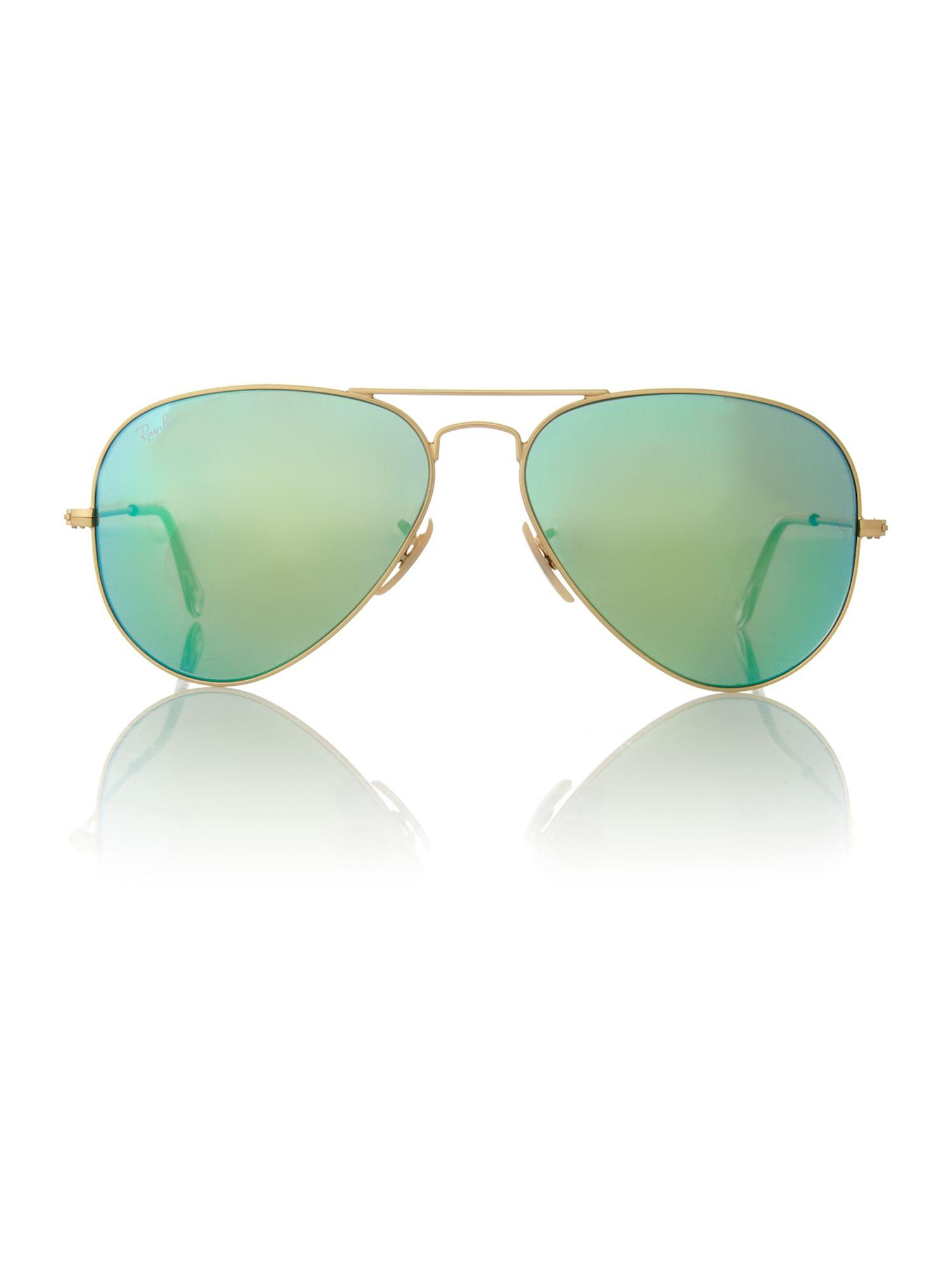 Очки для девушек солнечные голубые