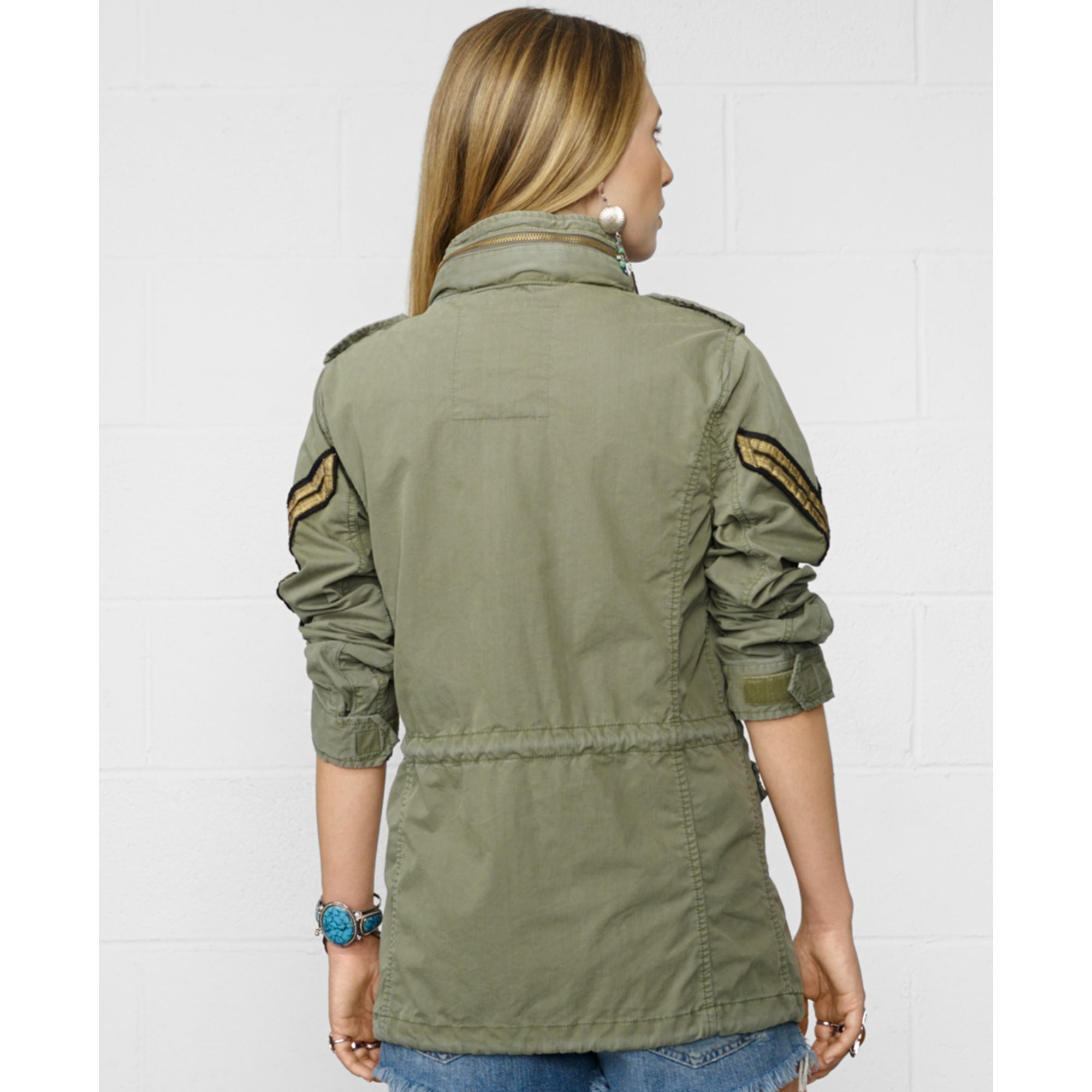 Denim Amp Supply Ralph Lauren Military Anorak Field Jacket