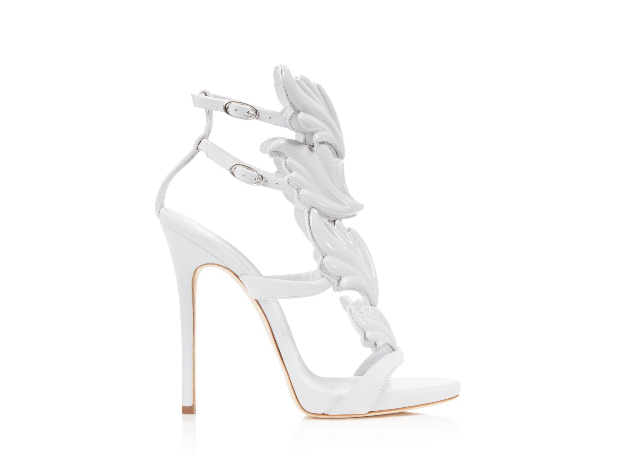 White Wing Heels