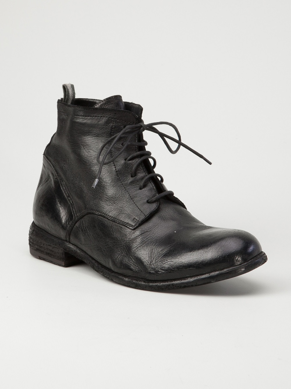 Lyst Officine Creative Ankle Boot In Black For Men