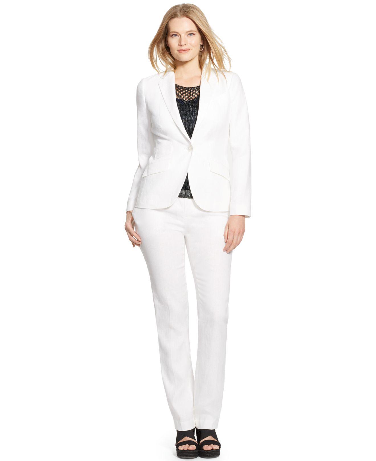 White Blazer Plus Size