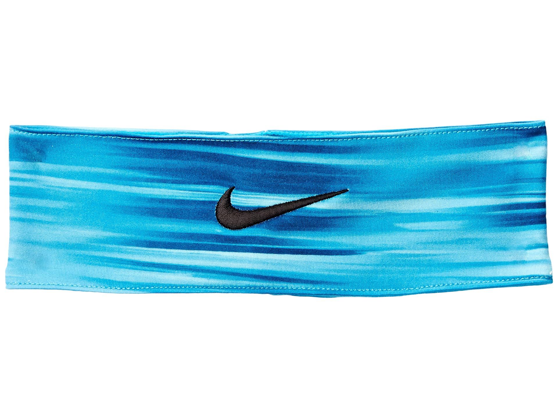 Lyst Nike Fury Headband In Blue