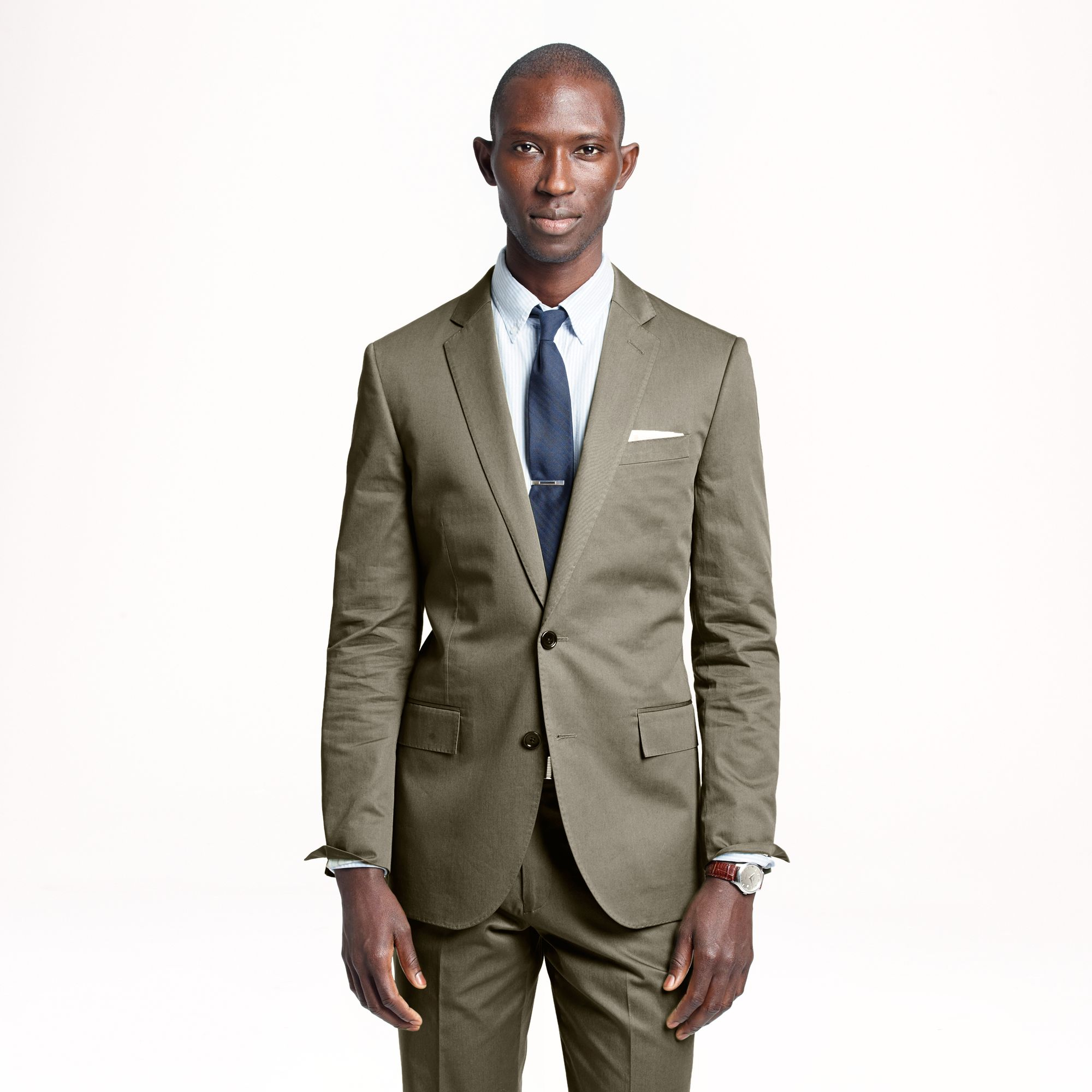 J.crew Ludlow Suit Jacket with Double Vent in Italian Chino in