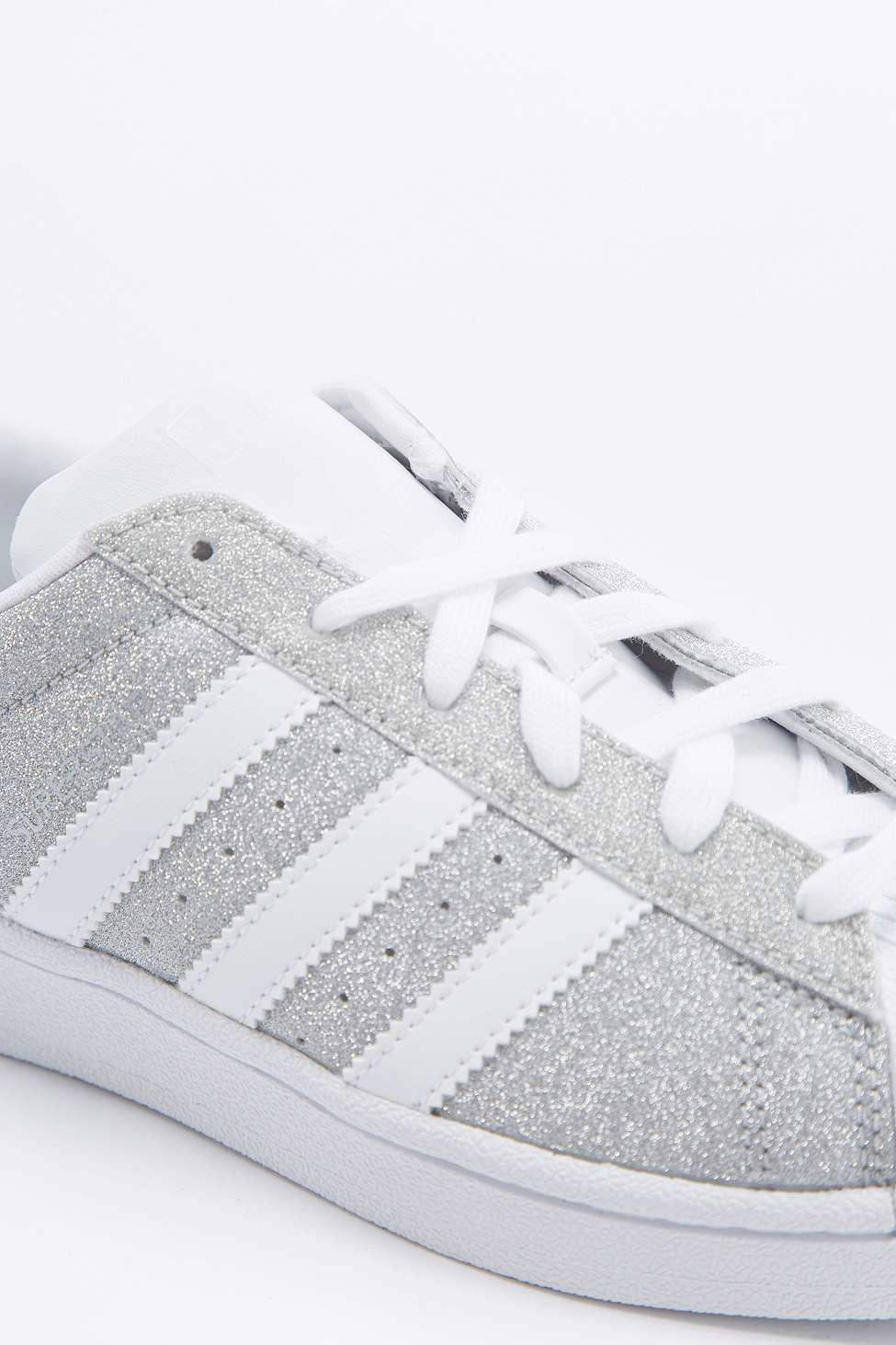 adidas originals womens superstar glitter trainer
