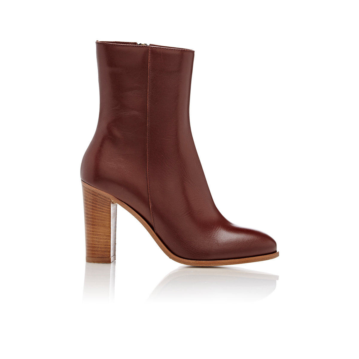 barneys new york ankle boots in brown lyst