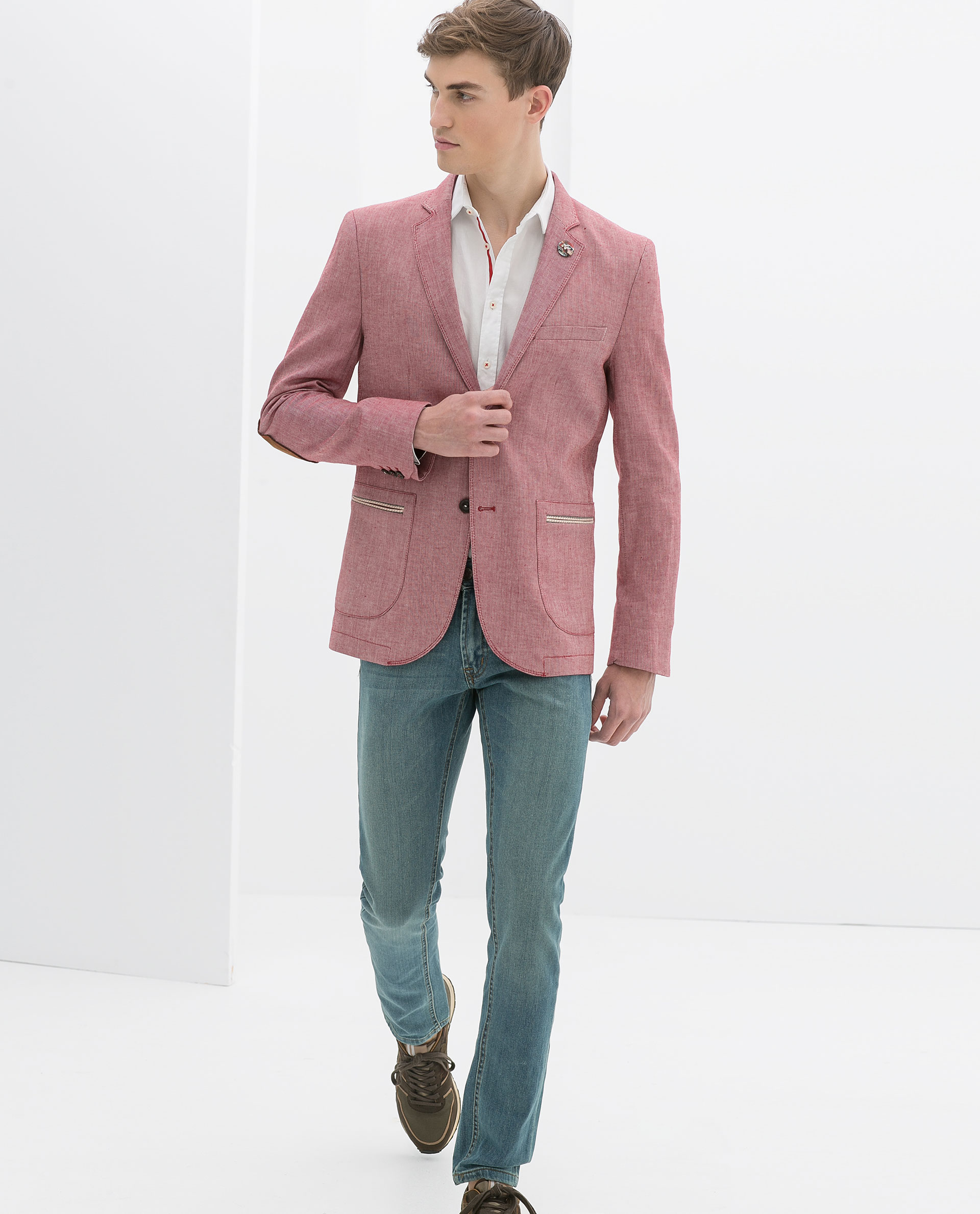 Cheap Red Blazer
