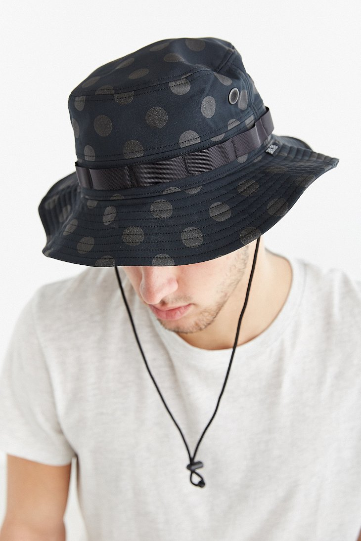 Lyst - Hall of Fame 3M Reflective Dot Boonie Hat in Black for Men b7aa896024a