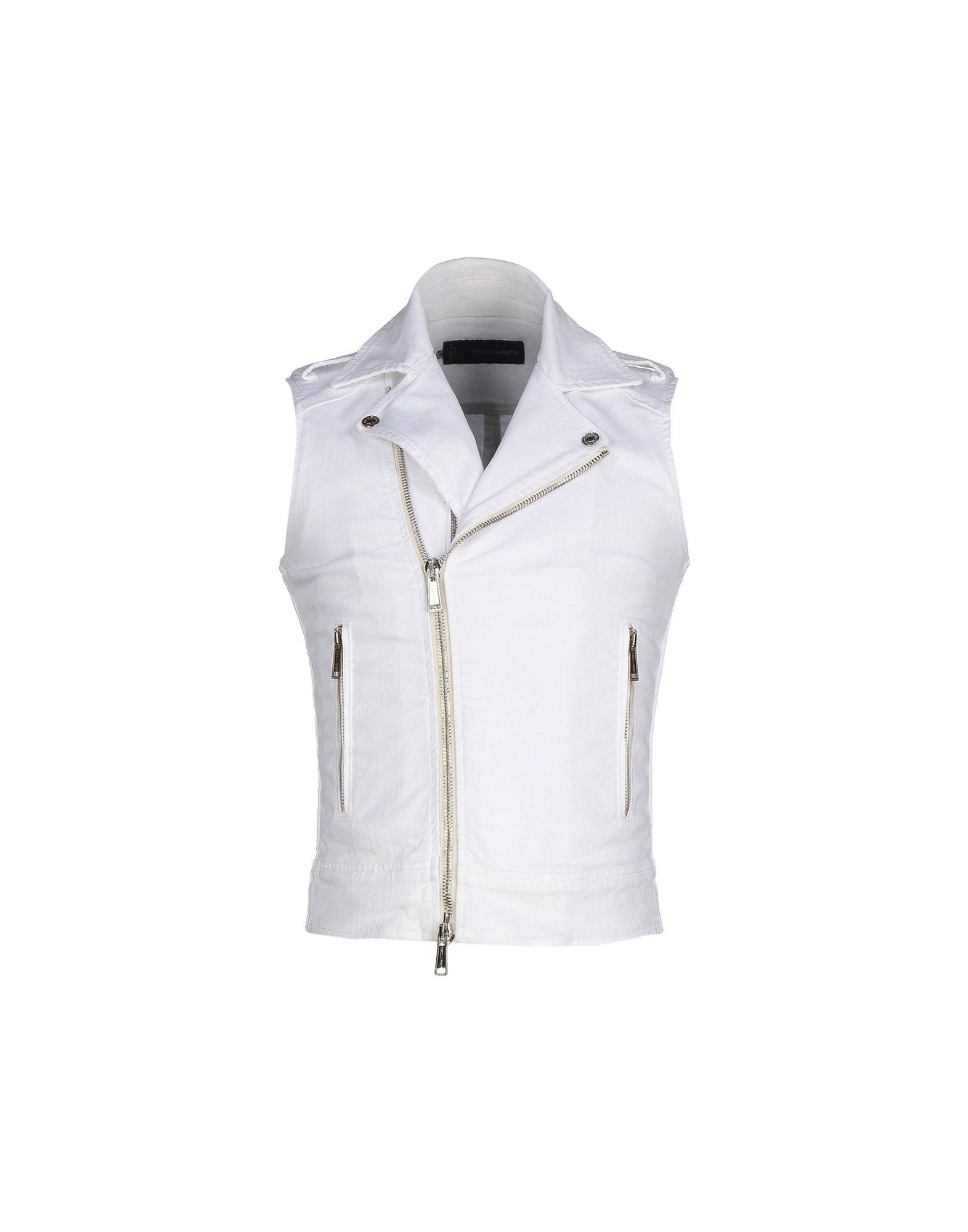 00911ca0f03ff6 Lyst - Dsquared² Denim Outerwear in White for Men