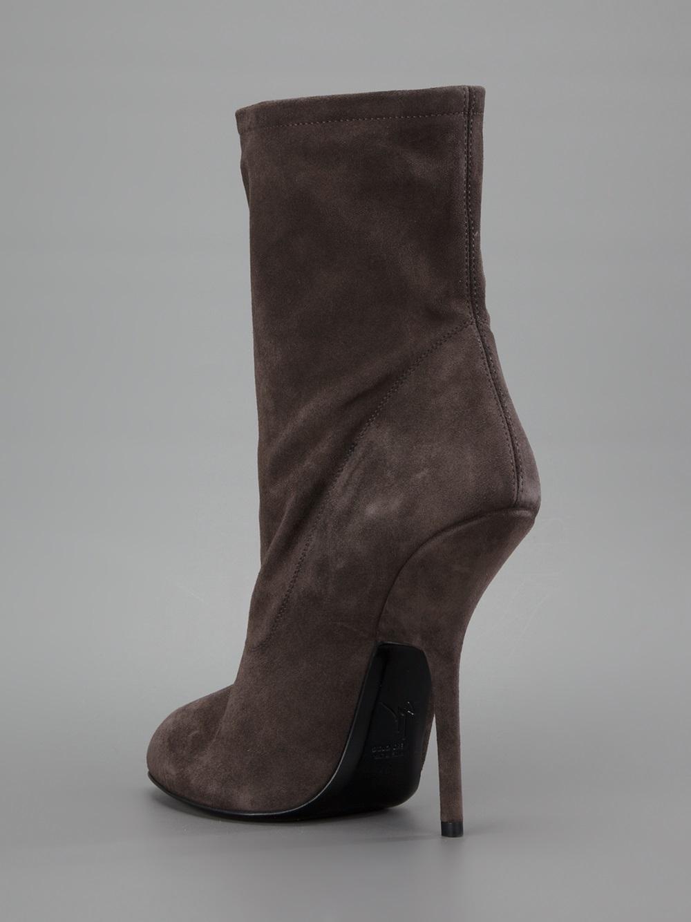 Giuseppe Zanotti Vera Boot in Grey (Grey)