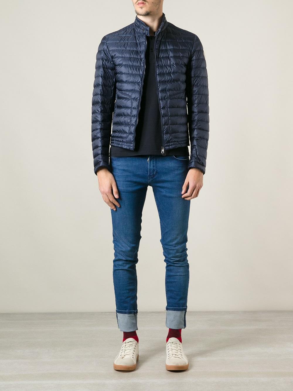 1fa6c0718 Moncler Blue Acorus Jacket for men