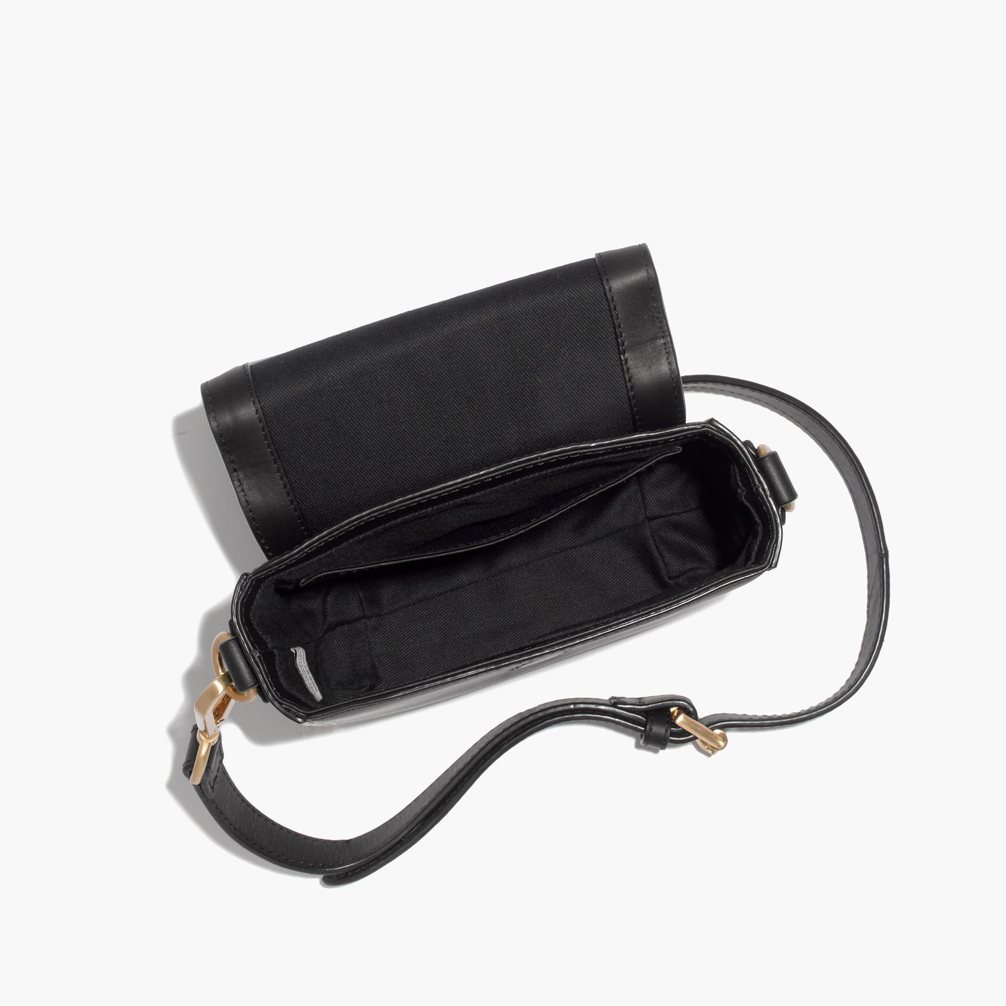 Madewell Flynn&Reg; Crosby Crossbody Bag in Black