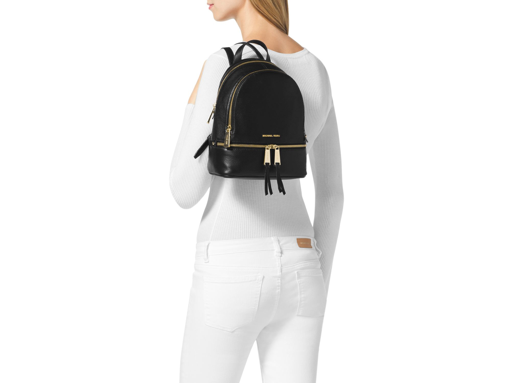 302d0c026367 ... greece gallery. previously sold at bloomingdales womens michael by michael  kors rhea womens mini backpack