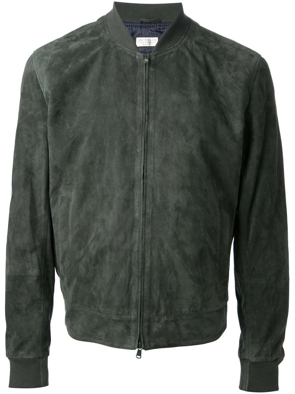 Suede Jacket Outfits For Men 20 Ways To Wear A Suede Jacket: Brunello Cucinelli Suede Jacket In Green For Men