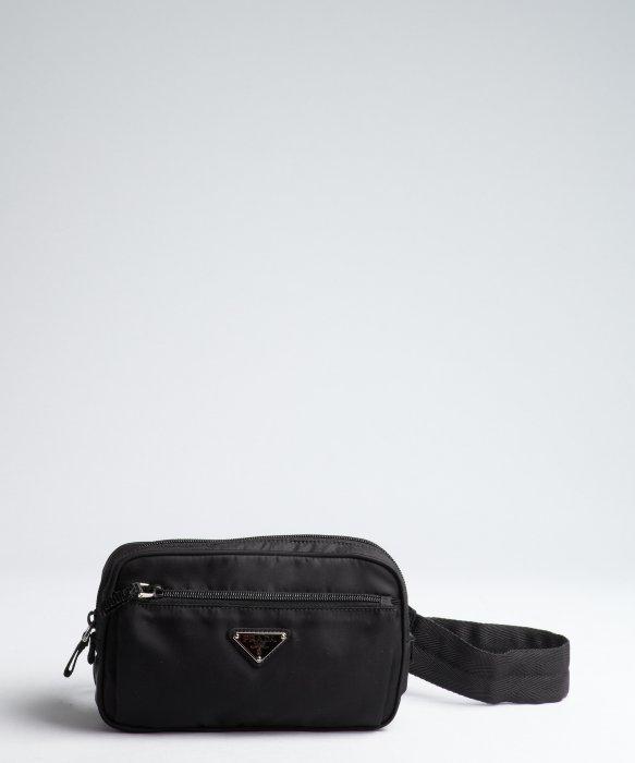... clearance lyst prada black tessuto waist bag in black for men 3c0f5  294a1 40a03d3388db9