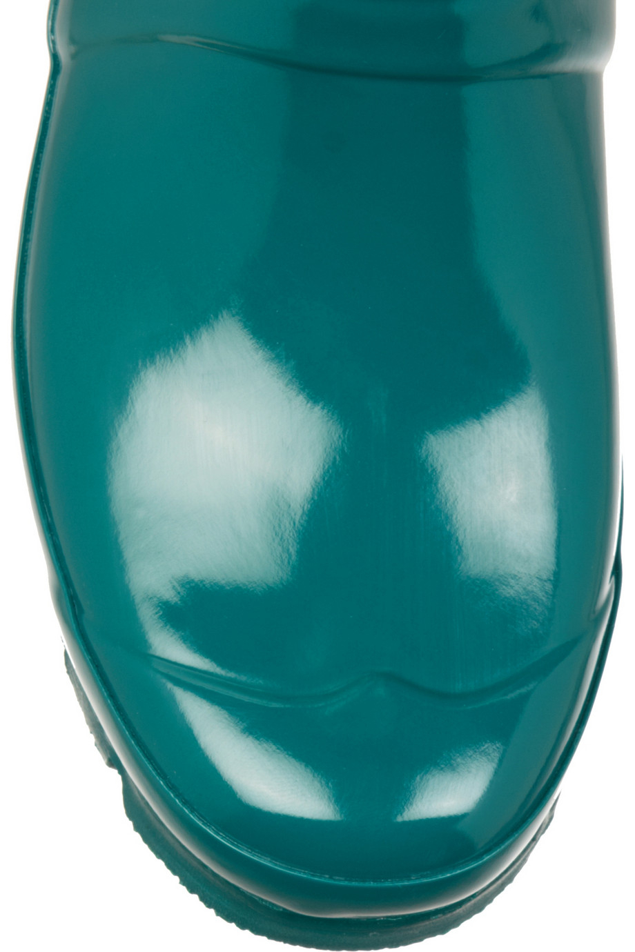 HUNTER Original Gloss Short Wellington Boots in Teal (Blue)