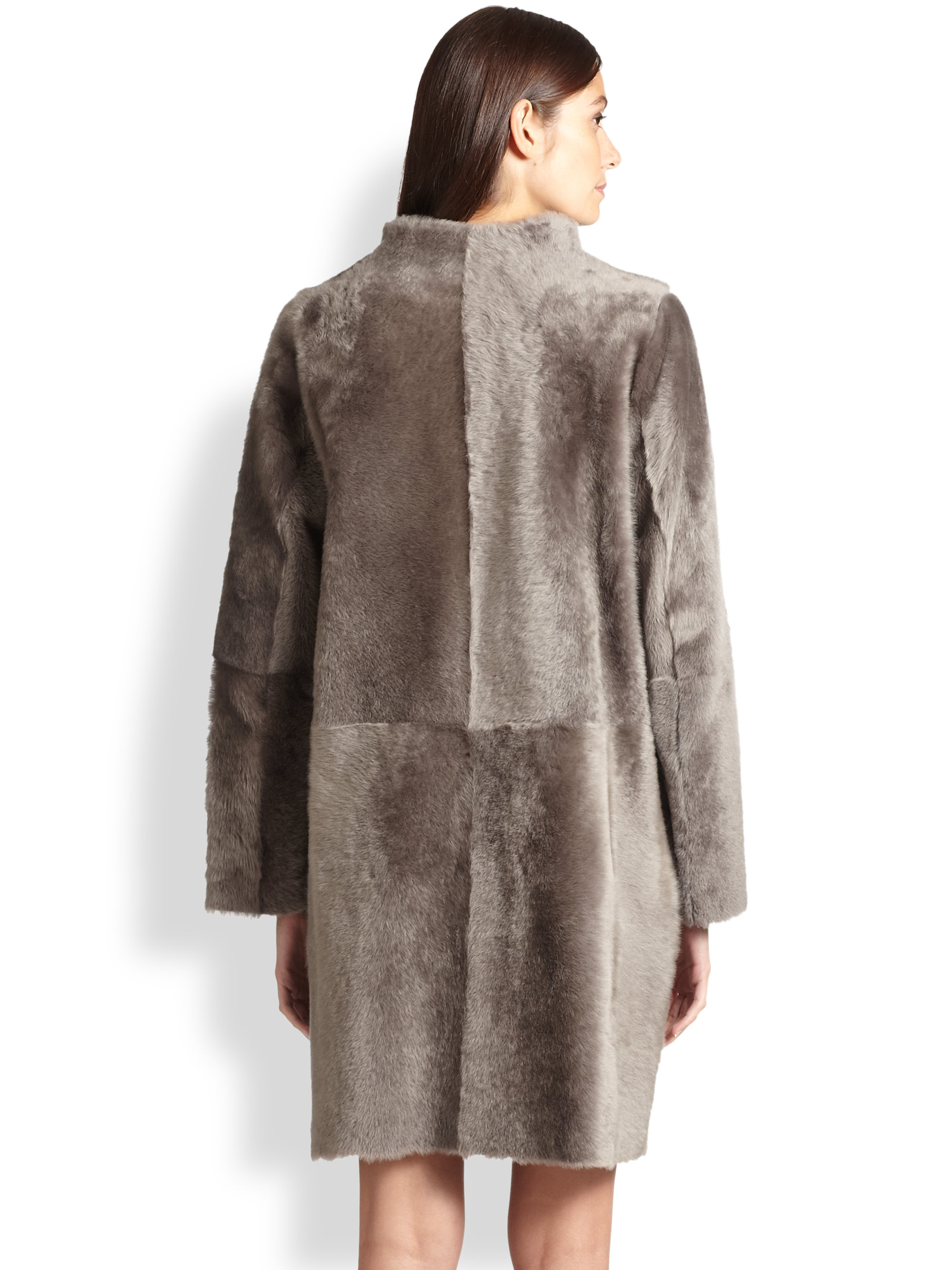 Max mara Aletta Shearling Coat | Lyst