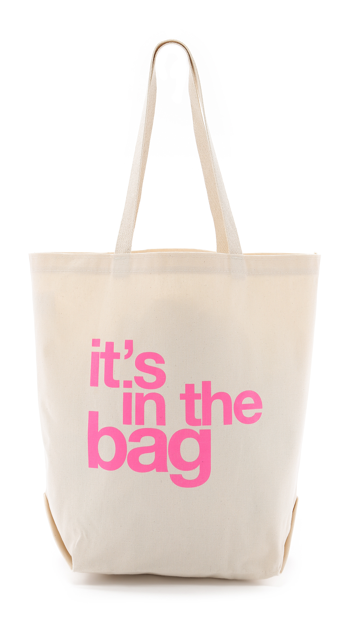 Dogeared It's In The Bag Tote - It's In The Bag in Natural