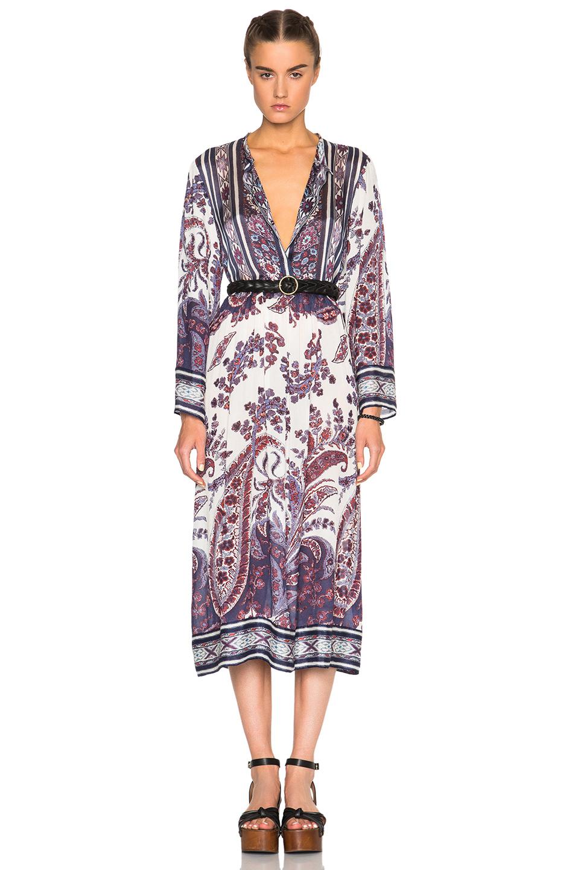 Toile isabel marant isabel marant toile 39 dali 39 dress in for Isabel marant shirt dress