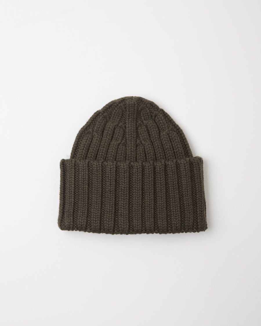 distressed rib knit beanie - Grey Maison Martin Margiela unQtz