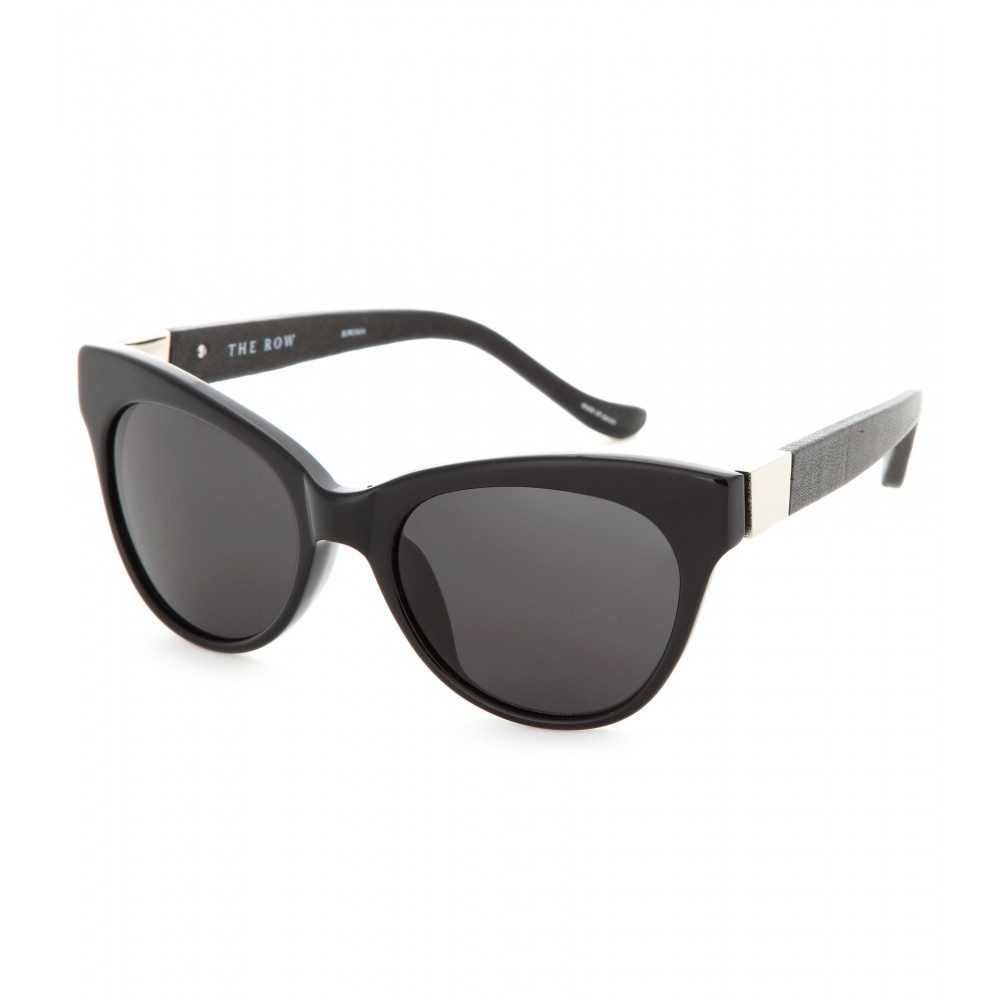 The Row 7 Sunglasses in Black