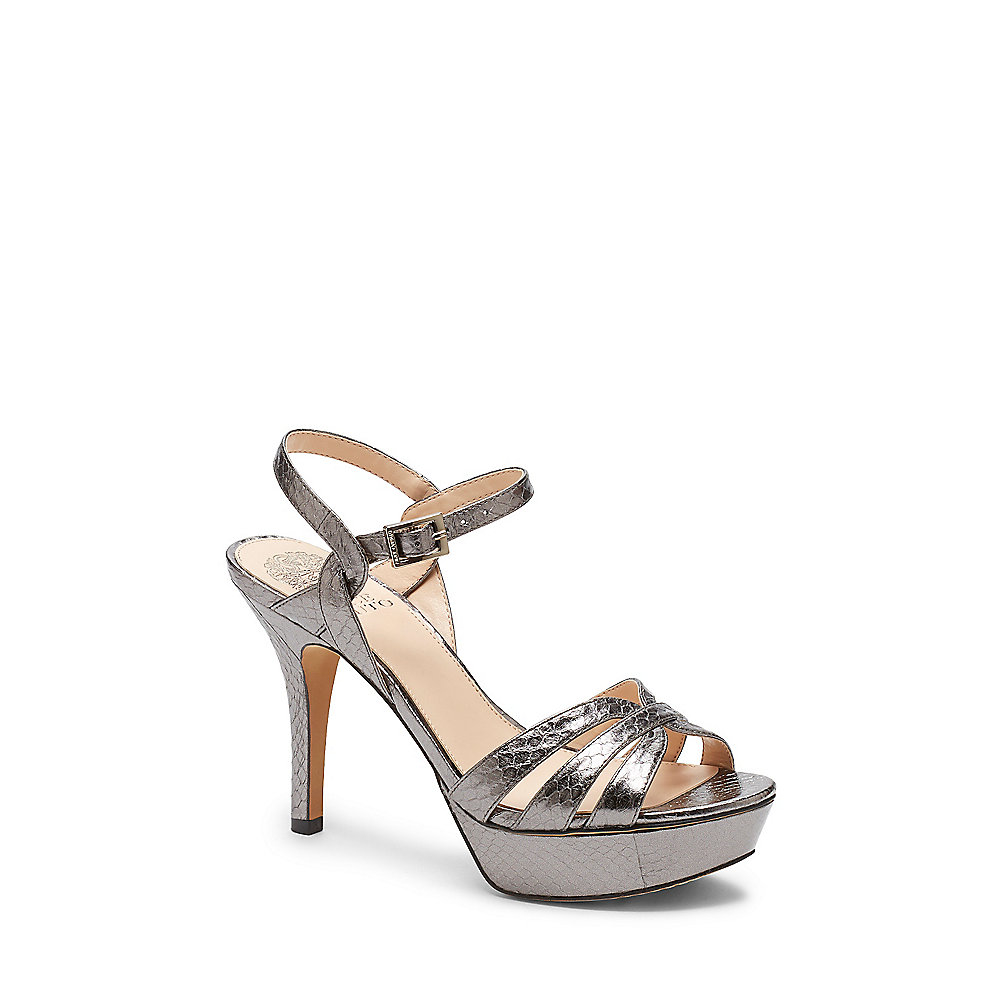 Lyst Vince Camuto Peppa2 Snake Embossed Strappy