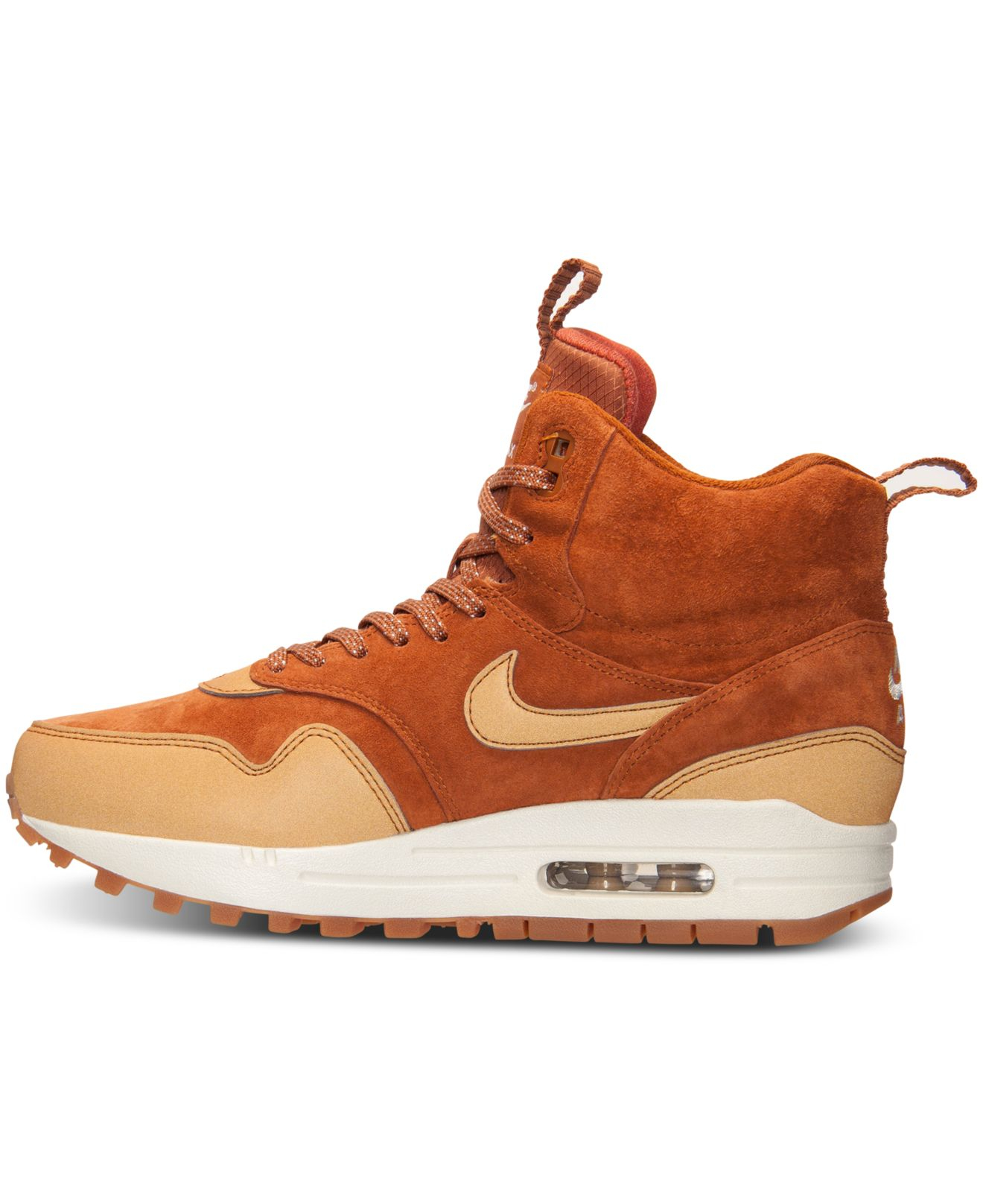 59281e8b902 ... uk lyst nike womens air max 1 mid sneakerboot from finish line in 7b954  eee02