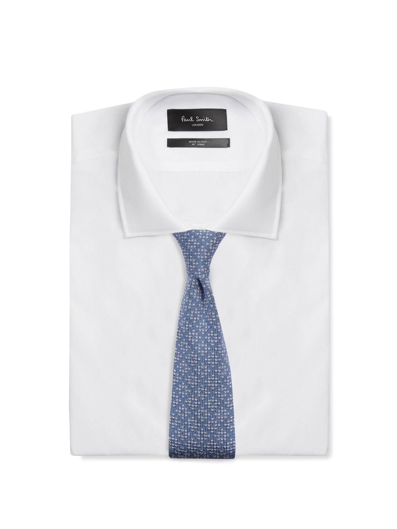 Lyst brioni diamond weave silk knit tie in blue for men for Diamond and silk t shirts