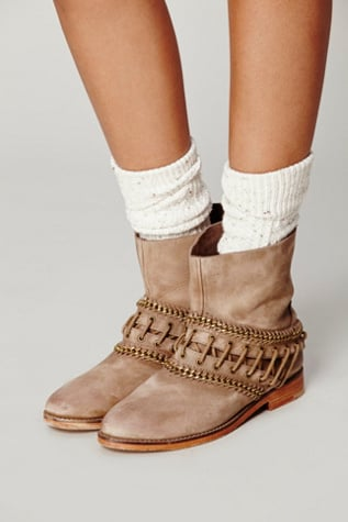 Free People Wanderlove Ankle Boot in Sand (Natural)