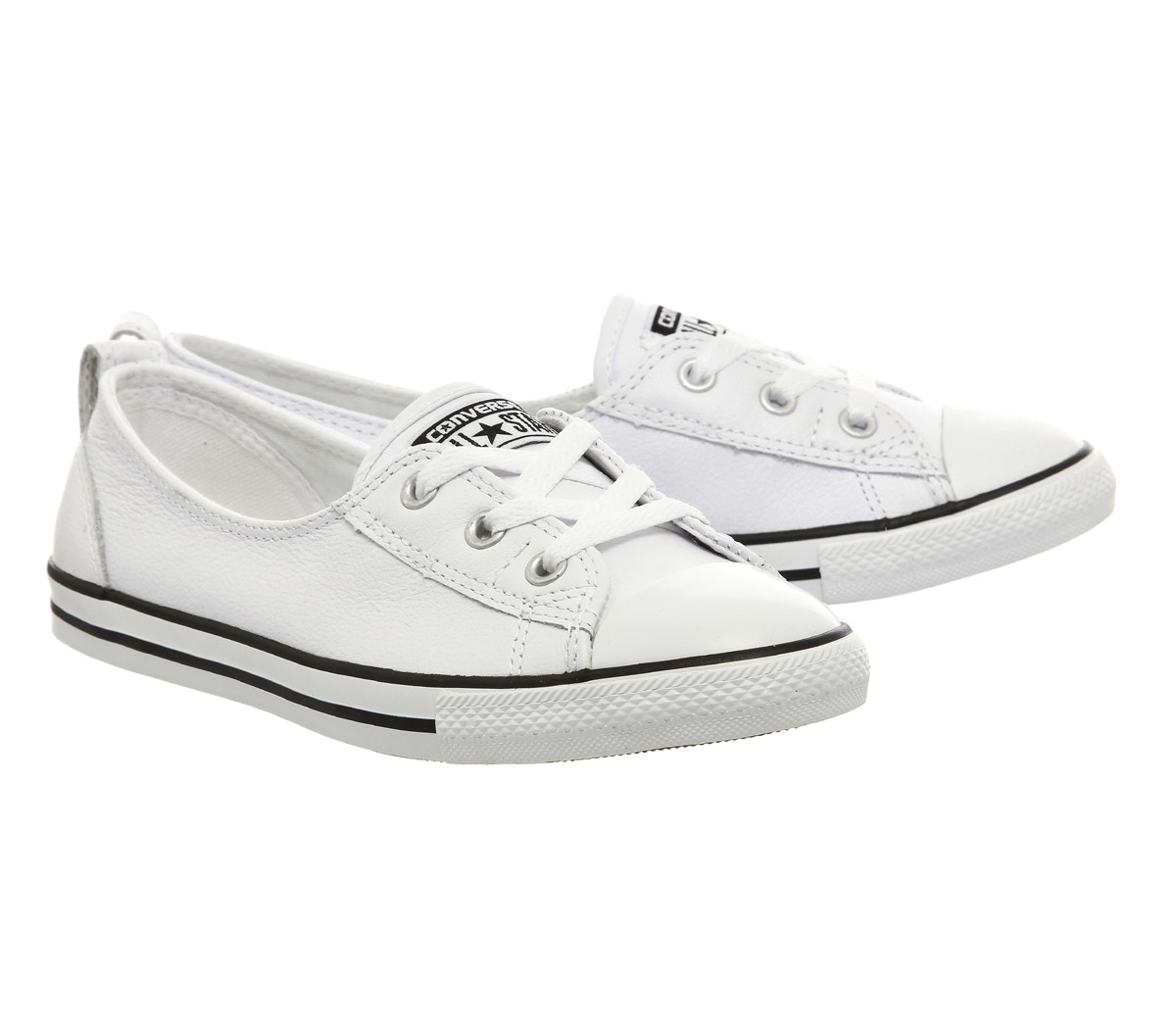Converse Ctas Ballet Lace Leather in White - Lyst