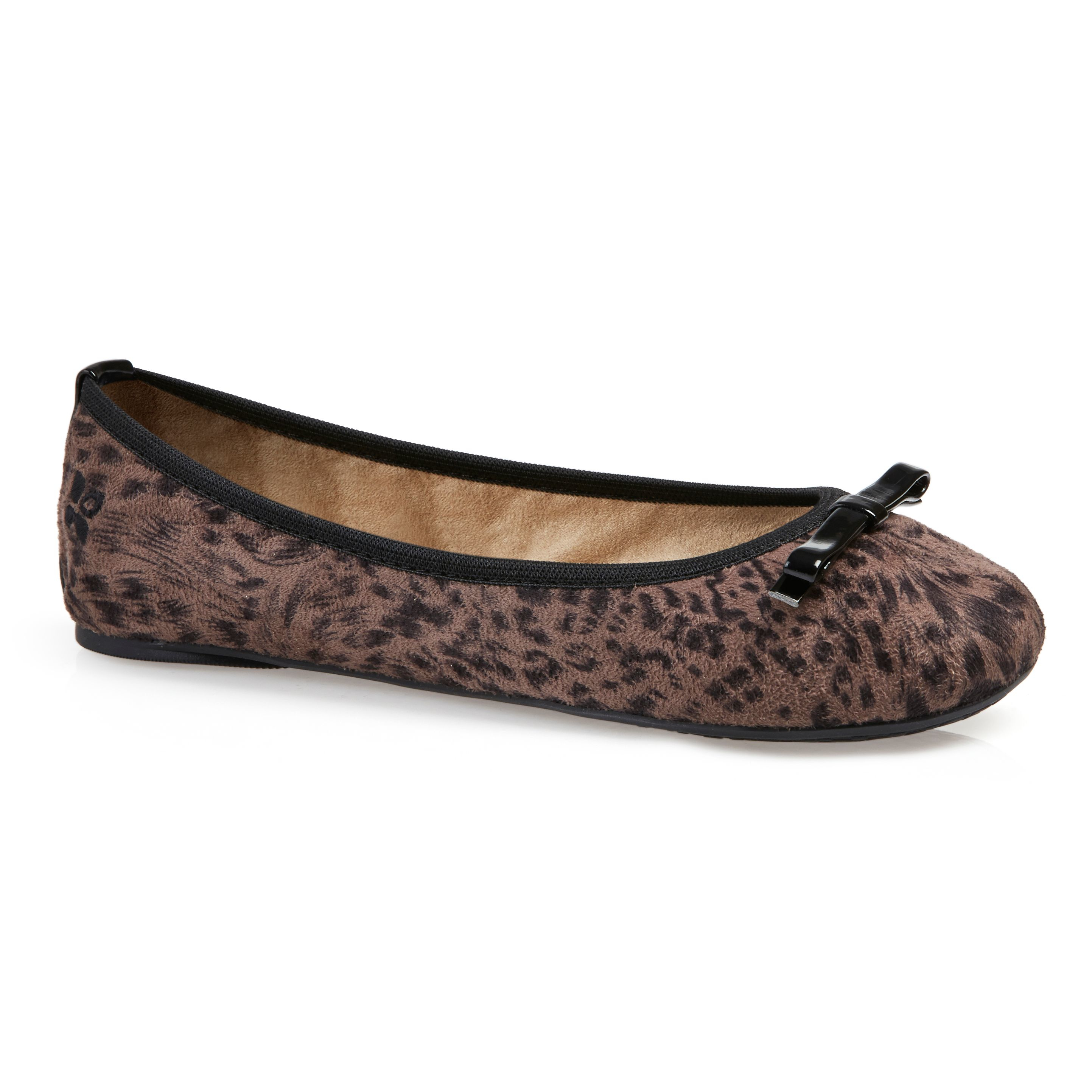 butterfly twists ballerina shoe in brown taupe lyst. Black Bedroom Furniture Sets. Home Design Ideas