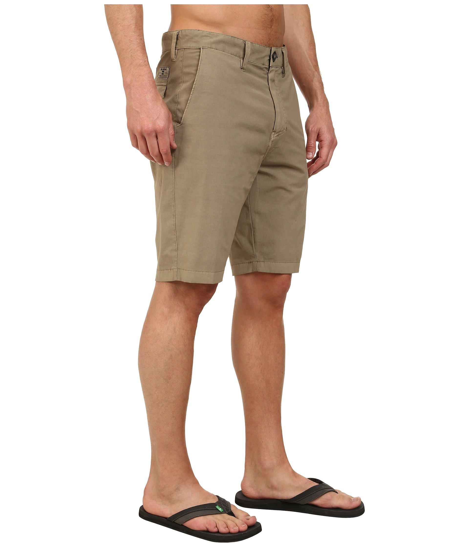 Light Khaki Billabong Boys New Order X Overdye Submersible Shorts