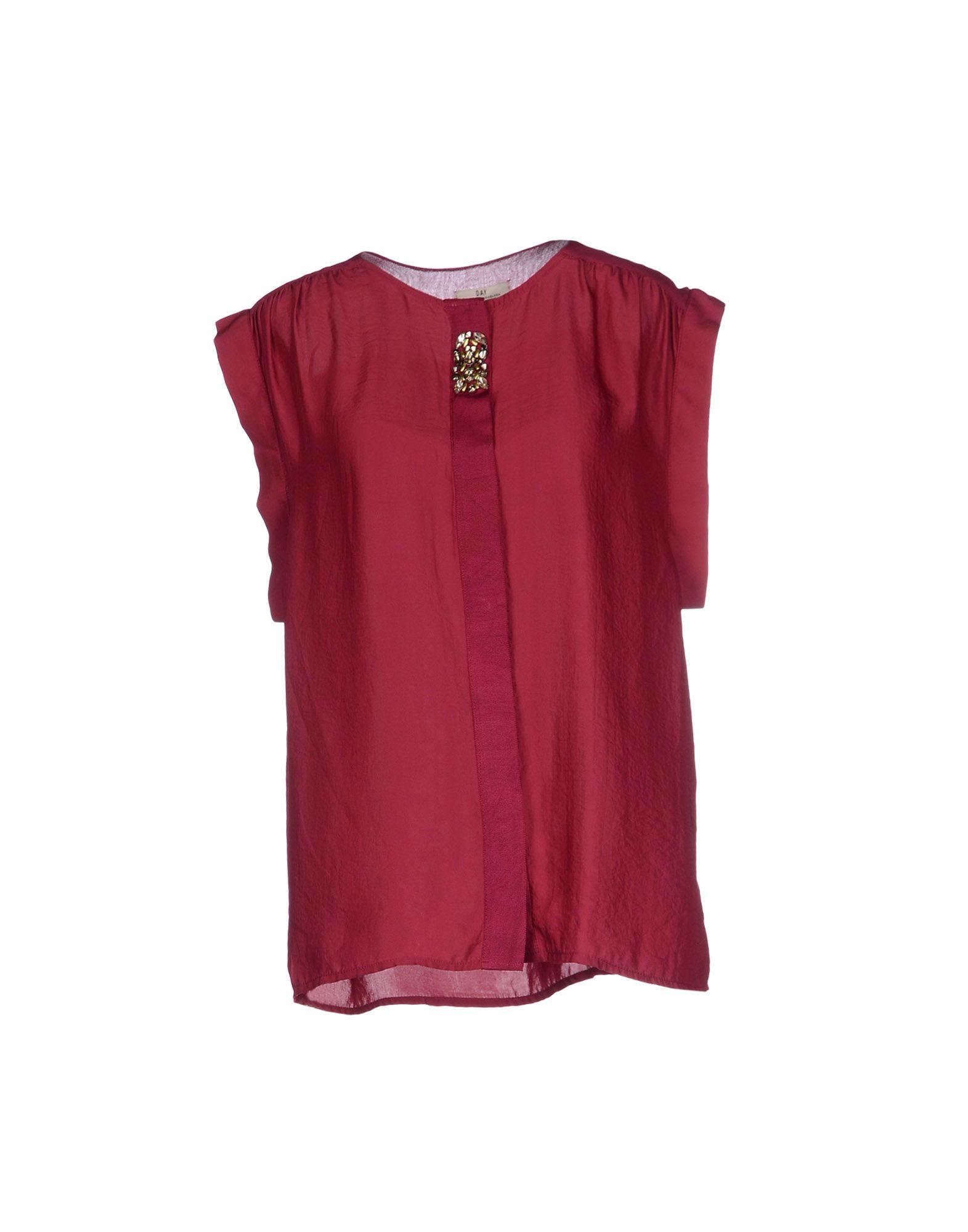 lyst day birger et mikkelsen shirt in red. Black Bedroom Furniture Sets. Home Design Ideas