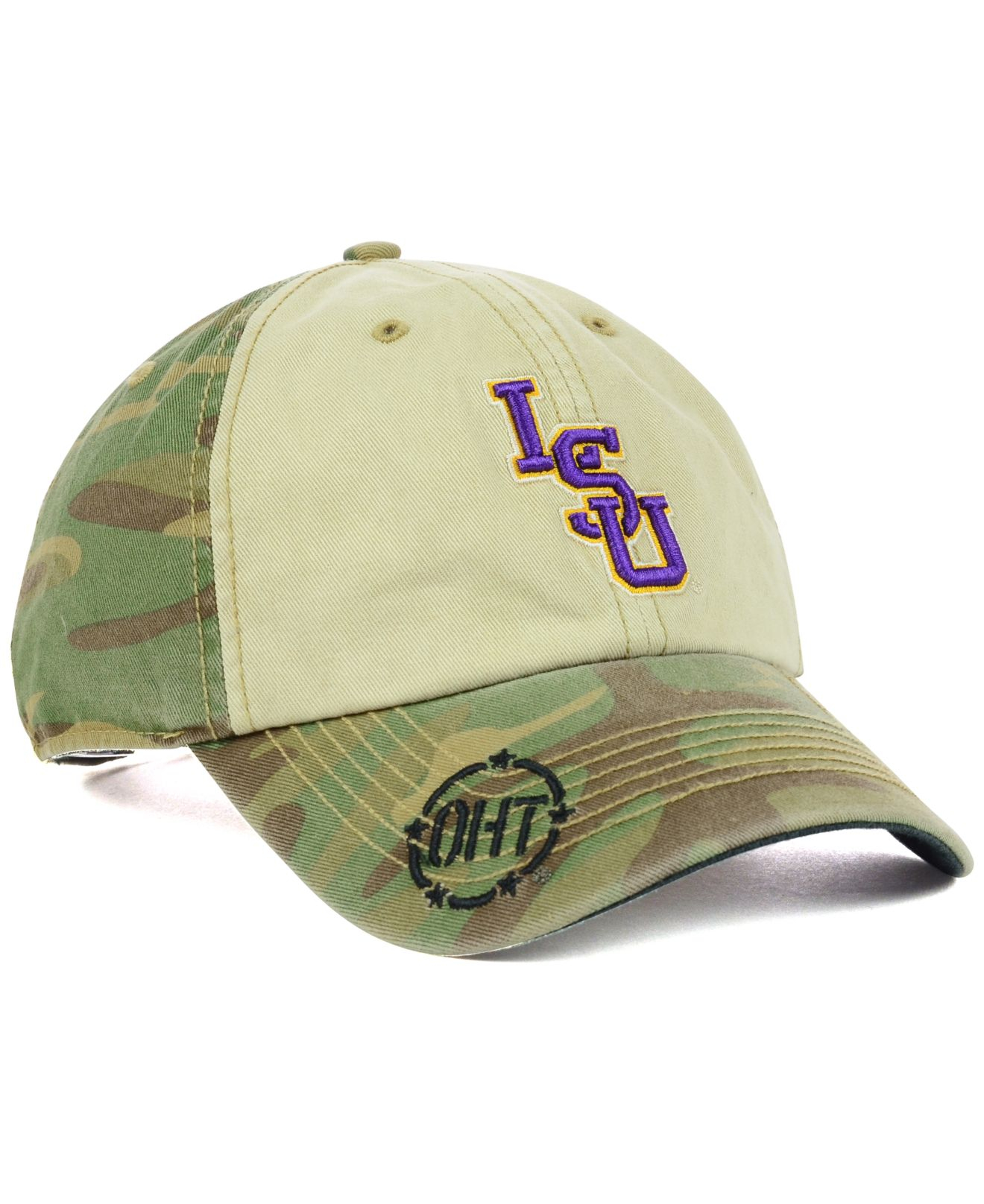 best service 40741 2556b ... ireland lyst 47 brand lsu tigers oht gordie clean up cap in green for  men b1a1d