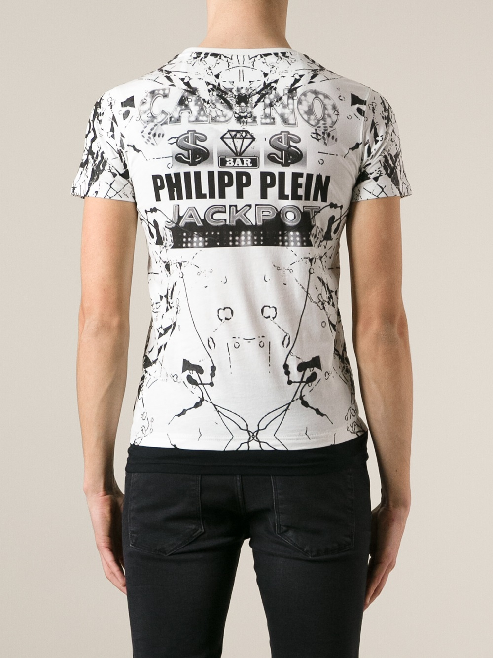 philipp plein t shirt casino