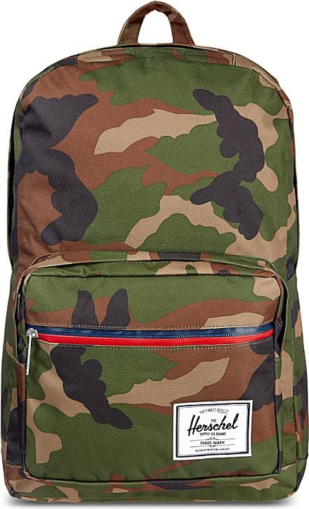 304f0e6c758 Herschel Supply Co. Camo Pop Quiz Backpack - For Men in Green for ...