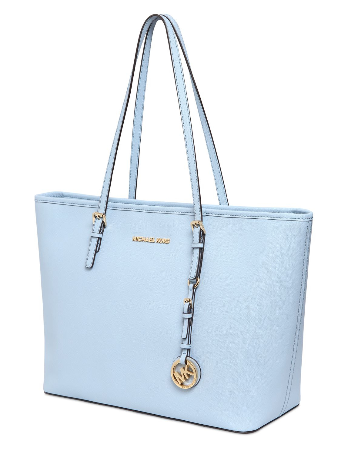 MICHAEL Michael Kors Jet Set Saffiano Leather Travel Tote Bag in ... 718bf1f307