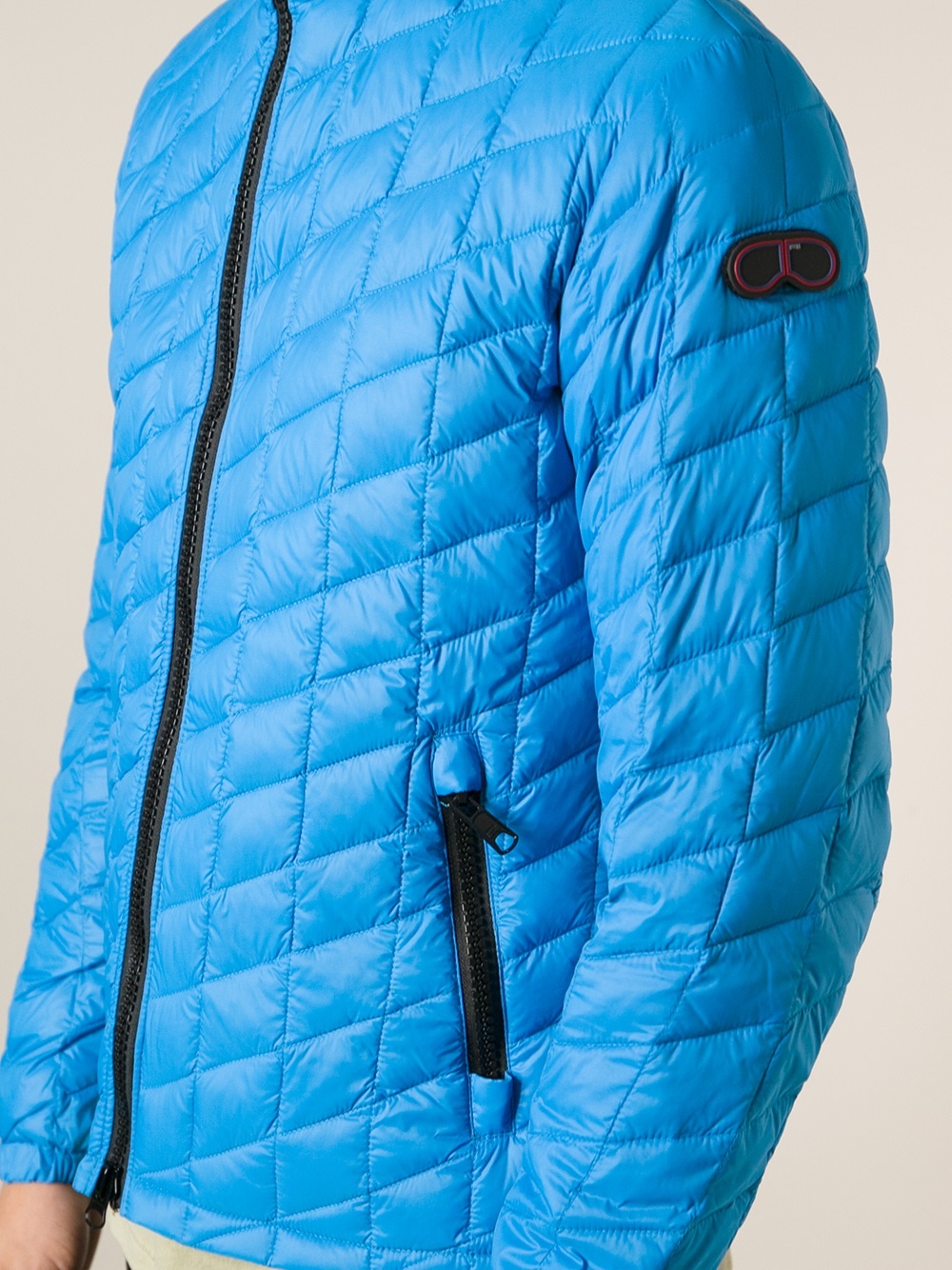 Ai Riders On The Storm Padded Jacket in Blue for Men