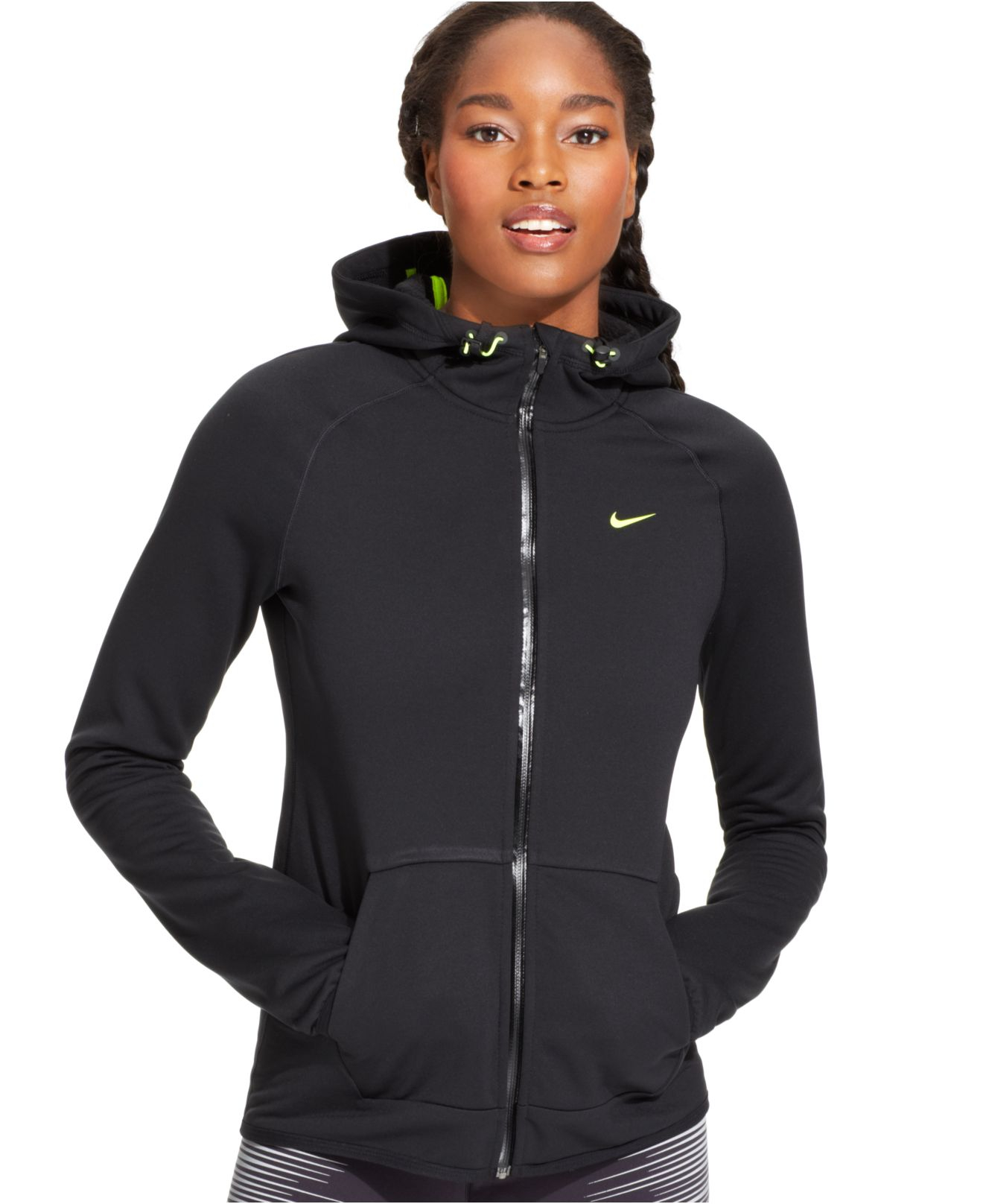 82349abe27a65 Nike Black All Time Tech Full-Zip Hoodie