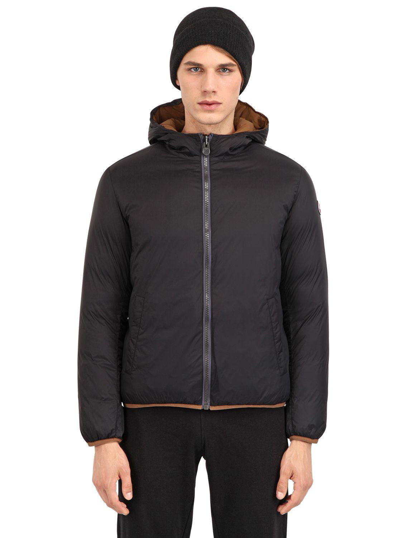 bcc008b08aa Lyst - Colmar Honor Reversible Nylon Down Jacket in Black for Men