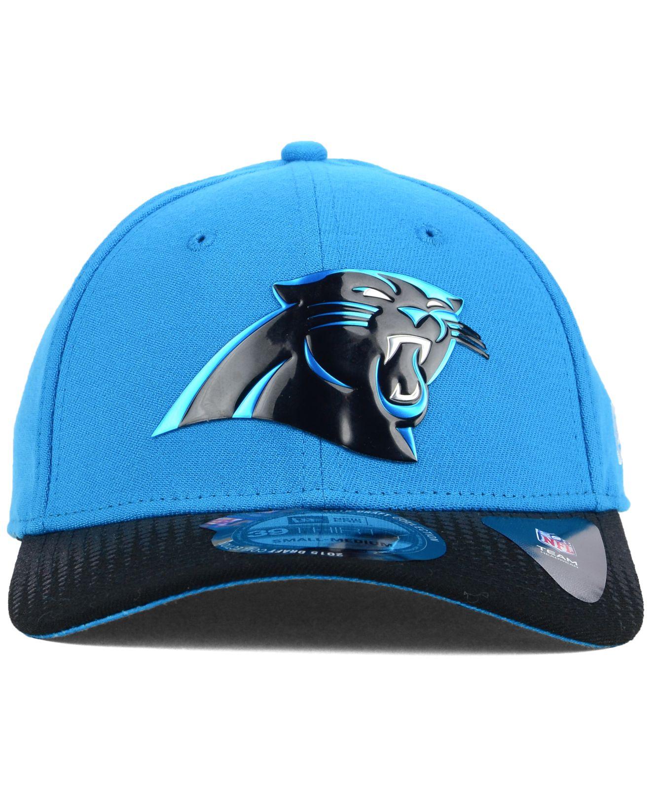 Lyst - KTZ Carolina Panthers 2015 Nfl Draft 39Thirty Cap in Blue for Men 717b623e487