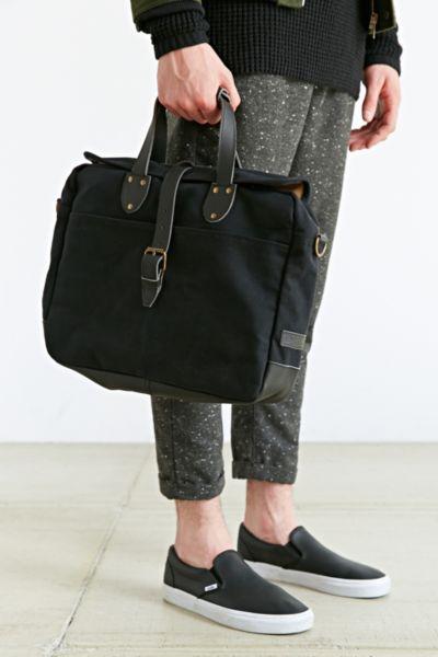 Blue Lakeland Laptop Messenger Bag