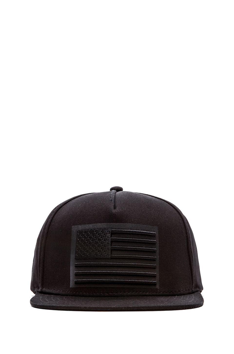 Stampd Black American Flag Hat for men