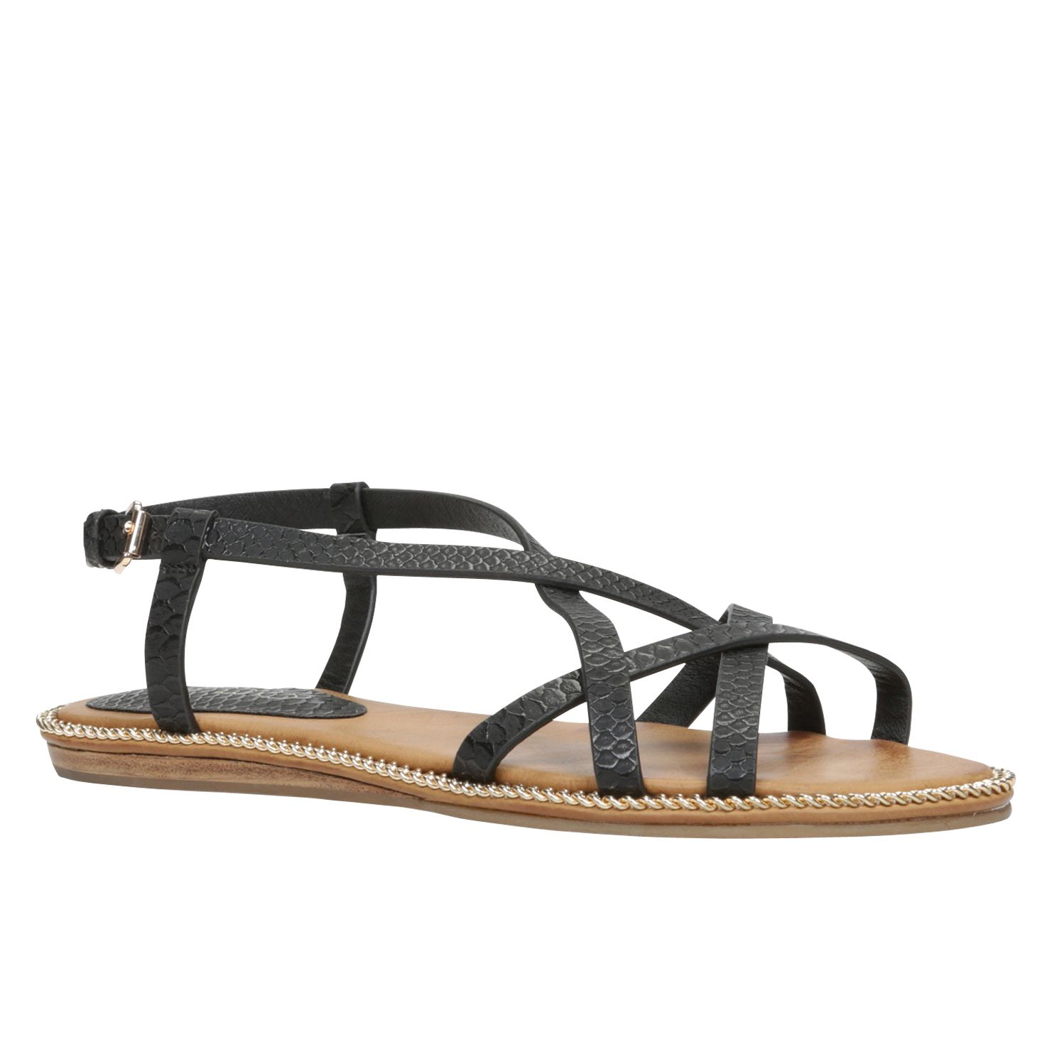 Free shipping BOTH ways on black strappy sandals, from our vast selection of styles. Fast delivery, and 24/7/ real-person service with a smile. Click or call