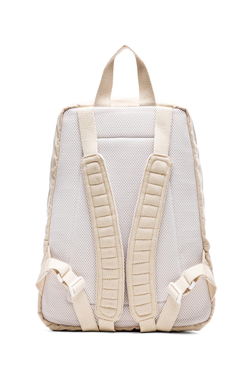 off white c o virgil abloh canvas backpack in white for. Black Bedroom Furniture Sets. Home Design Ideas