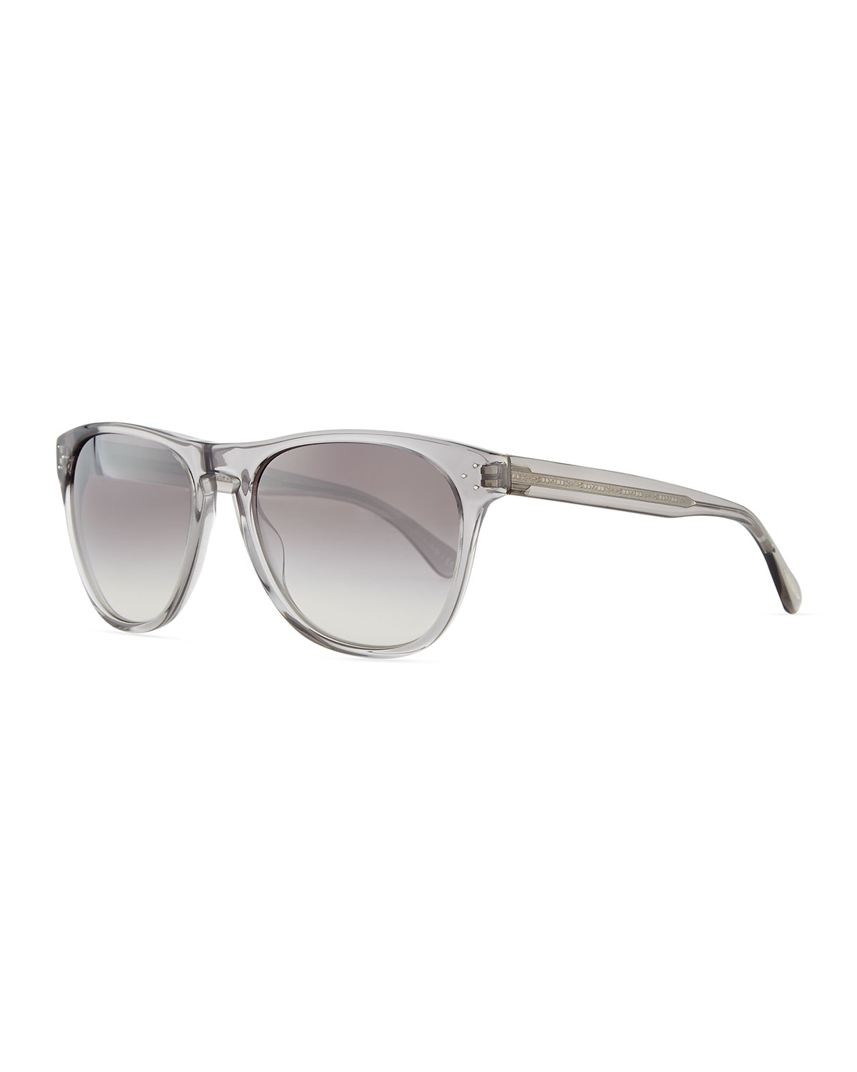 cd309ab208 Lyst - Oliver Peoples Daddy B Men s Clear Acetate Sunglasses in ...