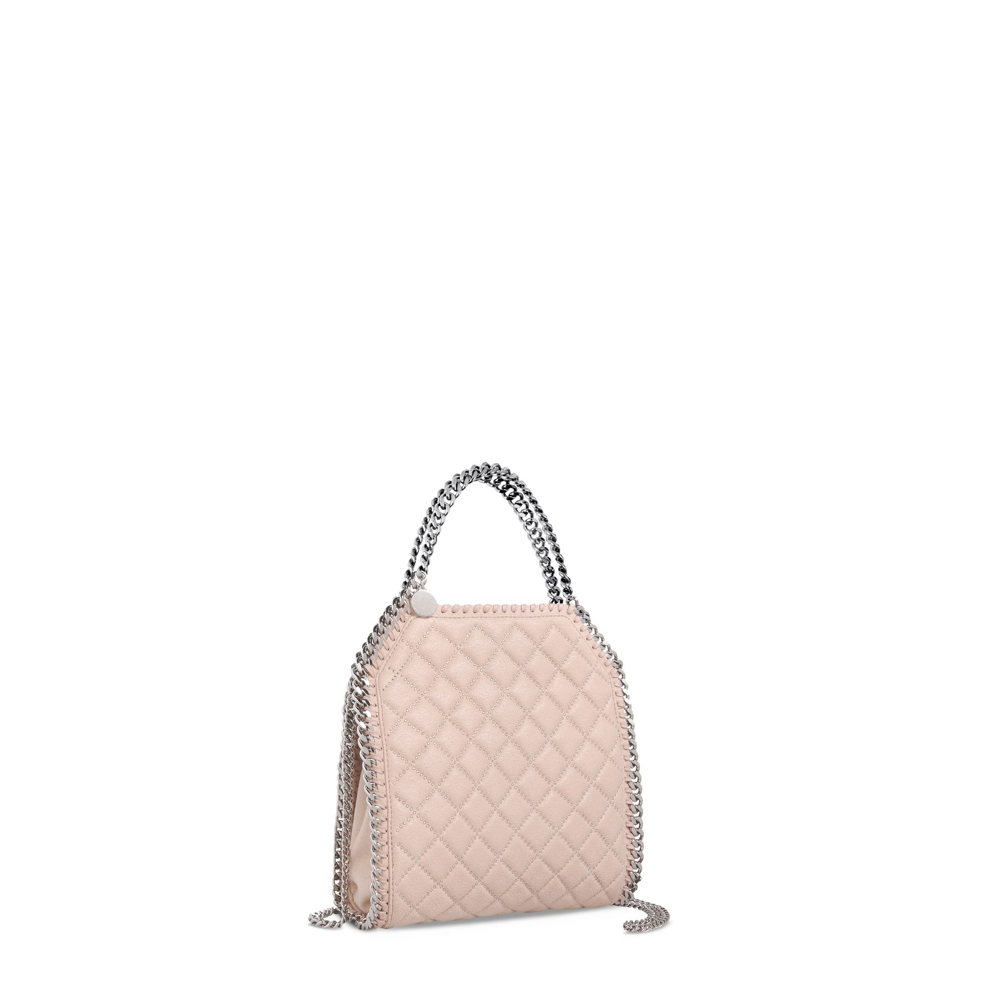Lyst Stella Mccartney Falabella Studded Quilted Shaggy