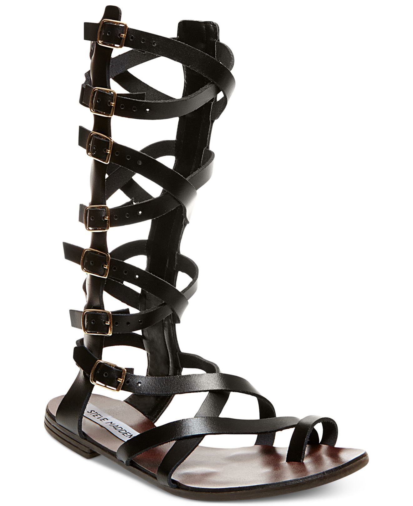 Innovative WOMENS FLAT STUDDED GLADIATOR LEATHER STYLE LADIES SANDALS SHOES SIZE