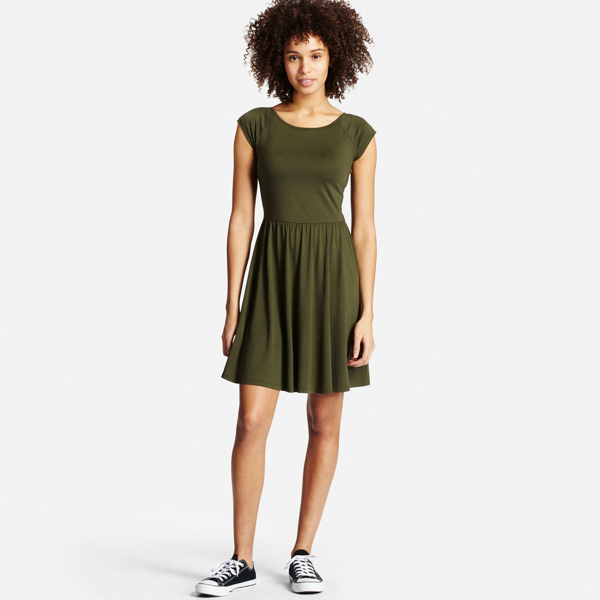 Unique Women39s Dresses  Formal Amp Shirt Dresses  UNIQLO UK